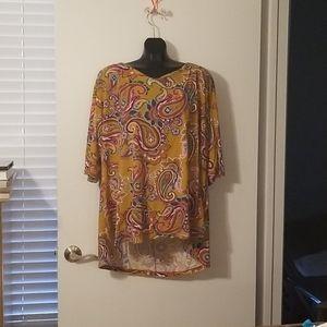 3/4sleeve blouse
